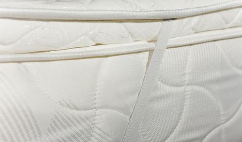 cubierta pillow pad 120x190 renueve su colchón actual