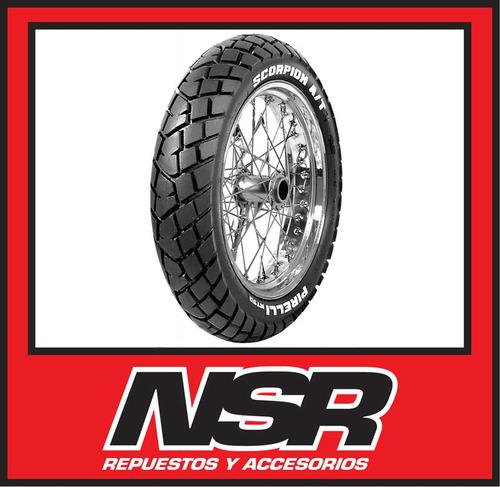 cubierta pirelli 110 80 18 mt90 trial motomel skua dakar nsr