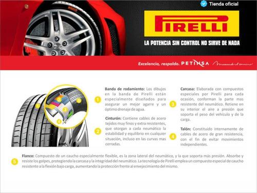 cubierta pirelli 245/45 r17 95y pzero run flat