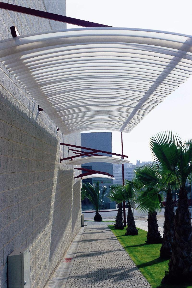 Cubierta policarbonato en mercado libre for Cubiertas transparentes para techos