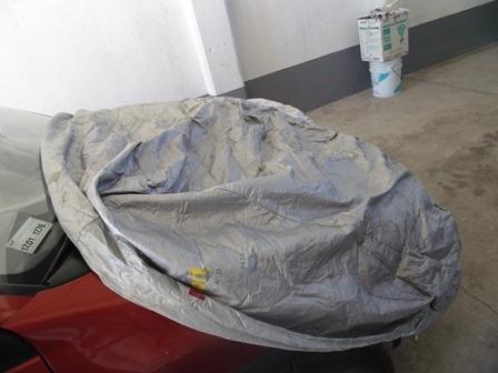 cubierta protectora para motocicleta.