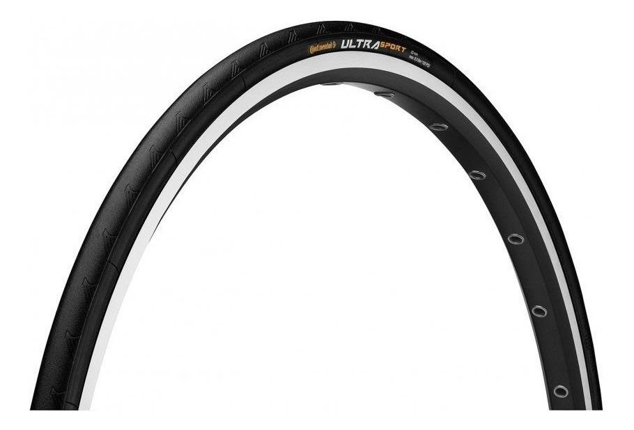 Cubierta Continental Ultra Sport 700x25 Plegable Negro