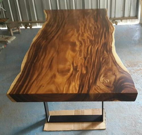 cubierta rústica de madera nativa vitrificada