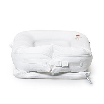 cubierta solamente (prístino blanco) para dockatot deluxe