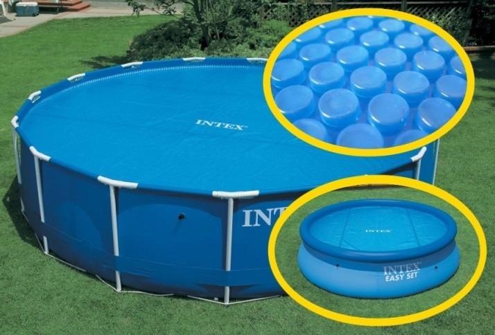 Cubierta solar para alberca circular 8ft 244cm diametro for Cuanto sale construir una piscina