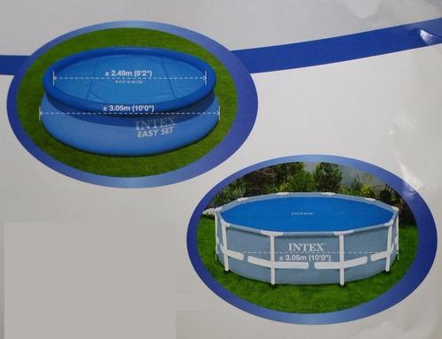 Cubierta solar tipo burbuja de alberca circular m for Cubierta para alberca intex