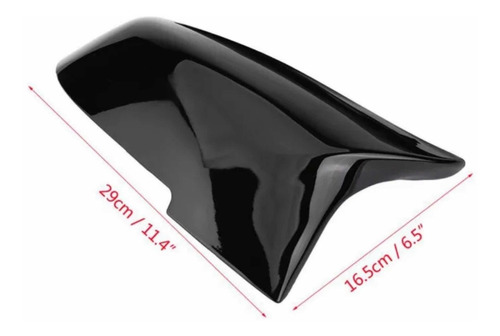 cubierta tapa de espejos bmw m negro gloss