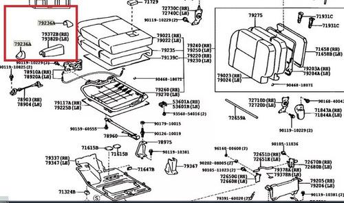 cubierta tapa tornillo pata asiento prado meru 79236 60030