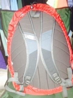 cubierta the north face pack rain cover impermeable talla s