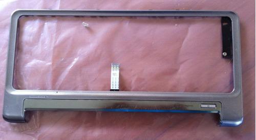 cubierta touch de teclado hp pavilion dv4 color plata