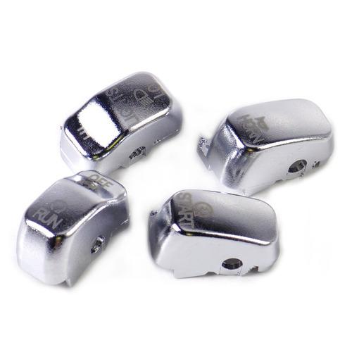 cubiertas cromadas switches controles boton harley roadking