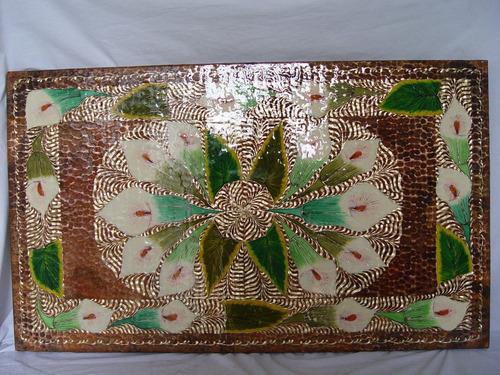 cubiertas de cobre 100% hechas a mano