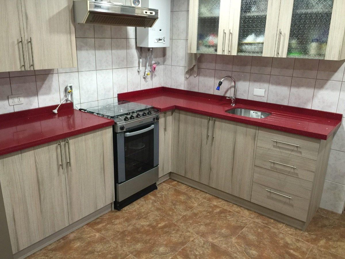 cubiertas de cocina en granito cuarzo marmol mejor
