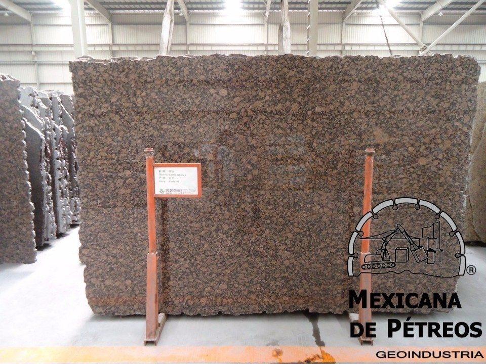 Cubiertas de granito baltic brown para cocinas integrales for Donde venden granito