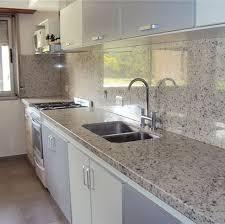 Cubiertas de granito blanco dallas para cocina integral for Granito blanco dallas