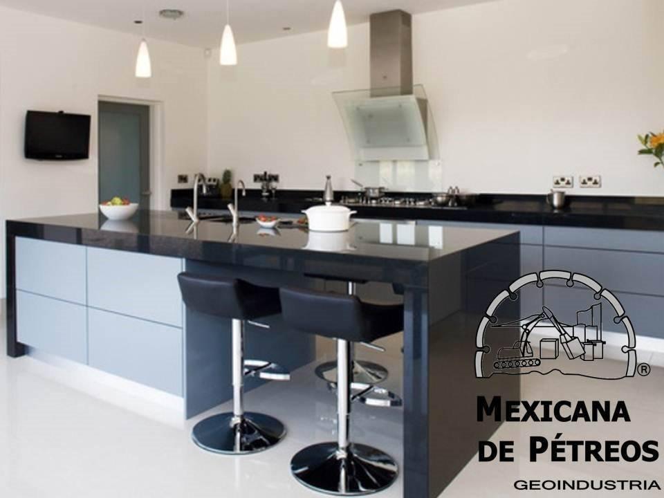 Cubiertas De Granito Negro Absoluto Para Cocinas Integrales