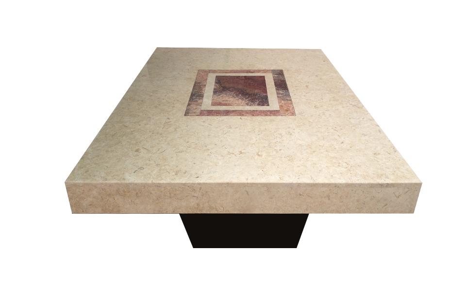 Cubiertas de marmol para comedor y mesas de centro for Cubiertas para comedor