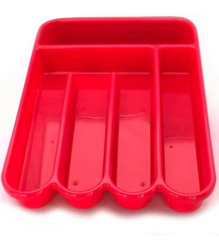 cubiertero organizador para cajones varios colores plastico