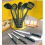 Set De Utensillos, Cuchillos De Acero Inox - Nuevo A S/. 60