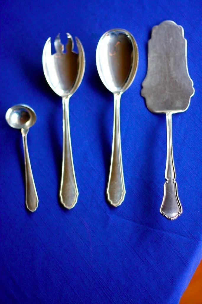 Cubiertos de plata camusso s en mercado libre for Cubiertos de plata precio