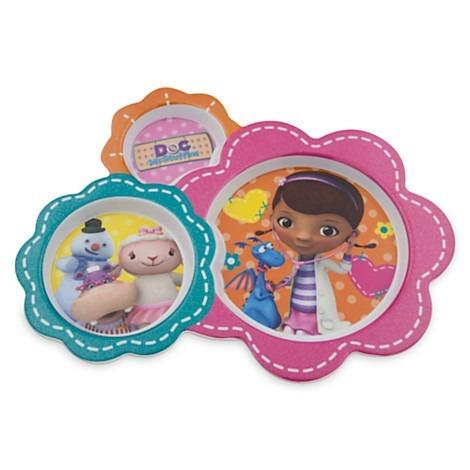 cubiertos disney store: doctora juguetes