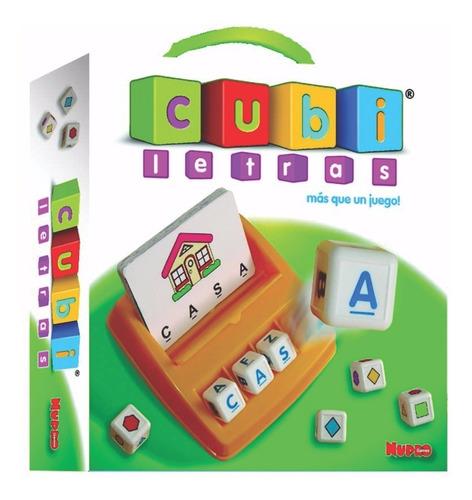 cubiletras juego para aprender palabras nupro mundo manias