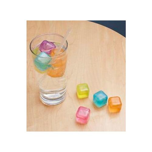 cubitos reutilizables hielo colores 30 piezas kikkerland