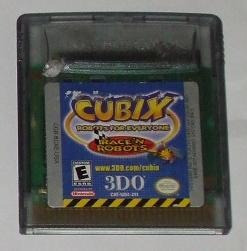 cubix / robots for everyone race / gameboy color gbc /  gba