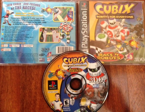 cubix - robots for everyone / sony playstation 1 ps1 ps2 ps3