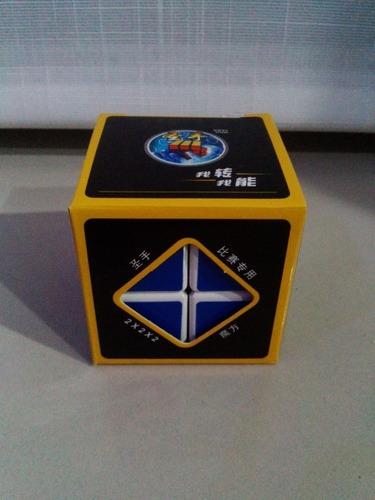 cubo 2x2 rubik original marca shengshou blanco - speed cube