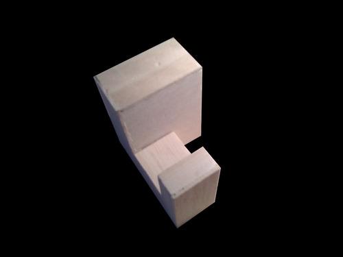 cubo 3 piezas armable