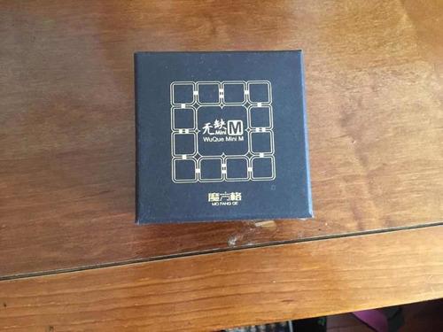 cubo 4x4 - qi yi wuque mini m base negra magnético