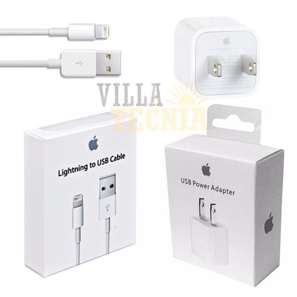 61f25251aa6 Cubo Adaptador De Carga iPhone 7 Se 6 Y 5 Cargador - $ 359.00 en ...