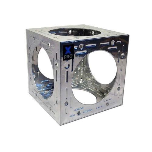 cubo adaptador p/ estructura cuadrada 24x24cm rigging k960g3
