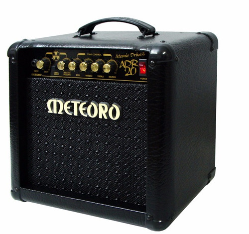 cubo amplificado 20w guitarra meteoro atomic drive adr 20