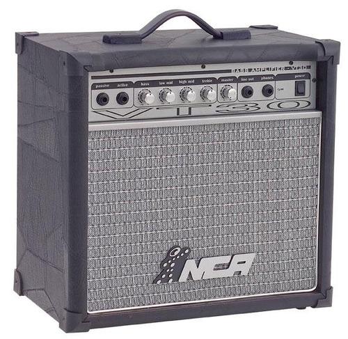 cubo amplificado para contra baixo dream music vt60 60 watts