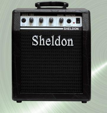 cubo amplificador baixo sheldon  bss180 18w rms
