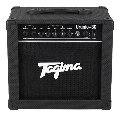cubo amplificador para contra baixo tagima uranio bass 30w