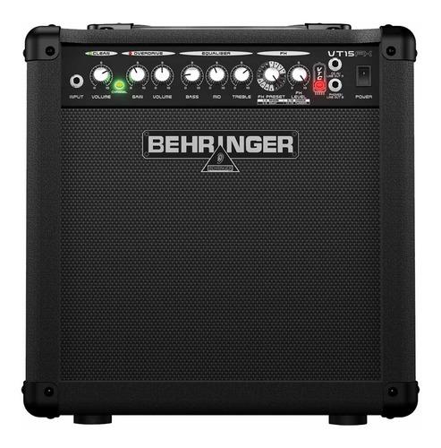 cubo ativo p/ guitarra 8 15w - virtube vt15fx behringer 110v