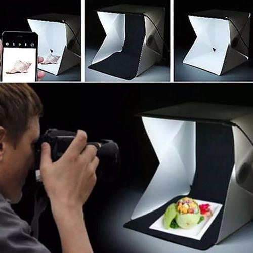 cubo caja de luz para fotografia