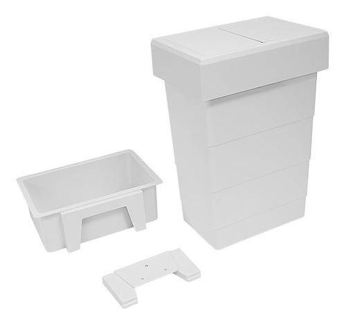 cubo cesto residuos de baño 8lts cod. hafele 502.63.759