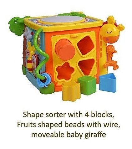 cubo de actividades 5 en 1 encastre juguete educativo 3839
