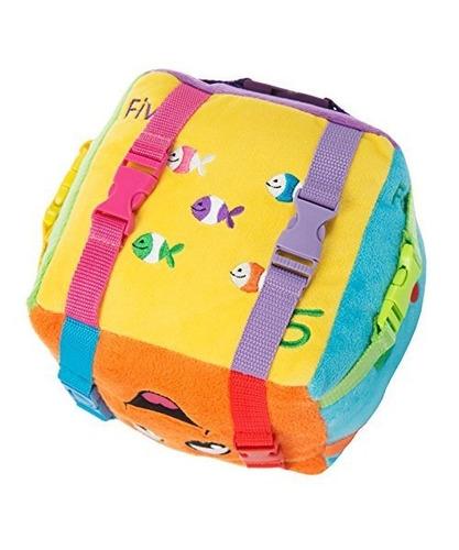 cubo de actividades  bingo  de hebillas juguetes - aprend