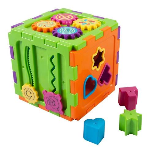cubo de actividades formas y figuras para bebe 12 piezas
