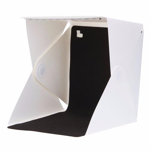 cubo de caja fotográfica 22x22x22cm y 26cm de alto