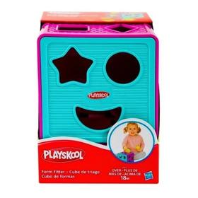 Cubo De Formas Geométricas Didáctico Playskool Oferta!