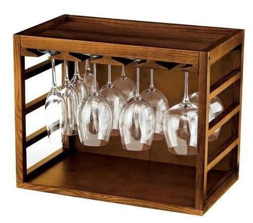 Cubo de rejilla para copas de vino 2 en mercado - Muebles para poner botellas de vino ...