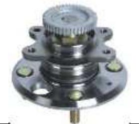 cubo de roda traseira hyundai sonata c/ abs  99/05
