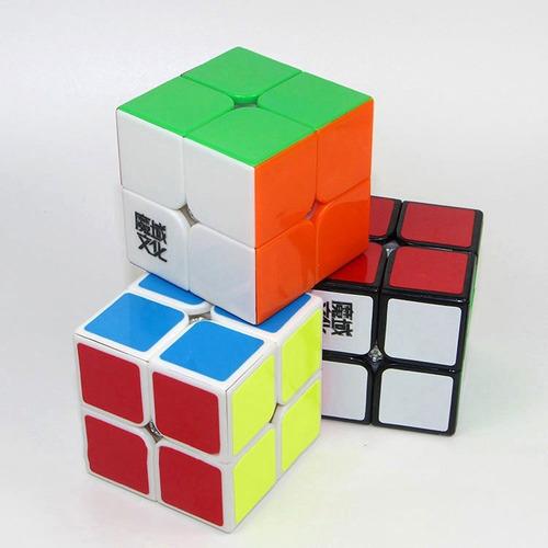 cubo de rubik profesional (cubo mágico) 2x2x2 moyu lingpo