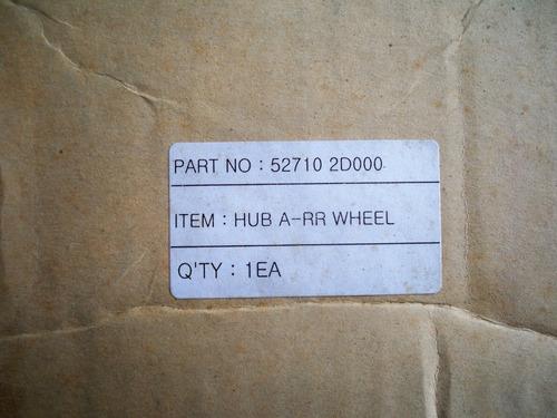 cubo de rueda trasera elantra 2.0 original